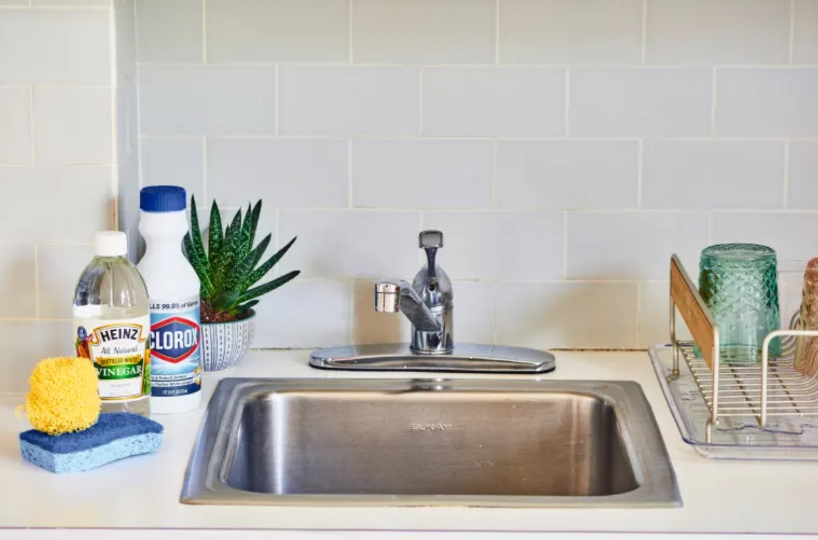 How To Clean and Disinfect a Stainless Steel Sink